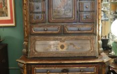 Antique Furniture Salt Lake City Beautiful Antique Italian Secretary Desk Country Style Hand Painted