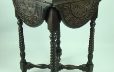 Antique Furniture Small Tables New Small Antique Victorian Carved Gothic Oak Table
