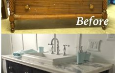Antique Furniture Turned Into Bathroom Vanity Luxury Re Do Of An Old Dresser Into A Bathroom Vanity Painted With