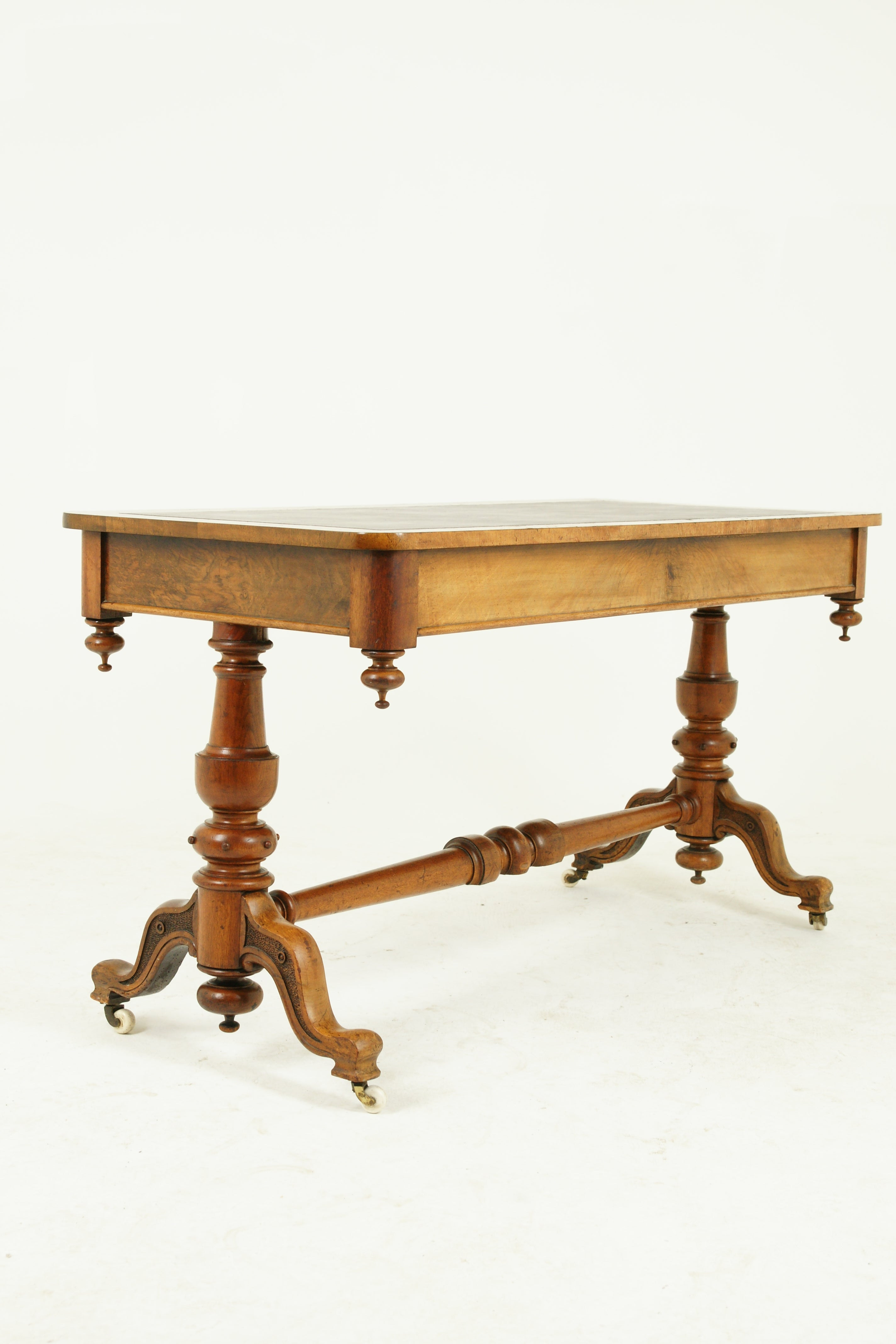 Antique Furniture Vancouver Wa New Antique Library Table Writing Table Walnut Victorian Scotland 1870