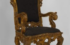 Antique Italian Furniture Styles Inspirational Italian Rococo Seating Chair Throne Chair Gilt