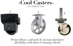 Antique Metal Furniture Casters Unique E Tip Tuesday Furniture Casters Protect Floors Add Style