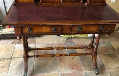 Antique Reproduction Office Furniture Elegant Desk Antique Look Reproduction Wooden In Bury Manchester