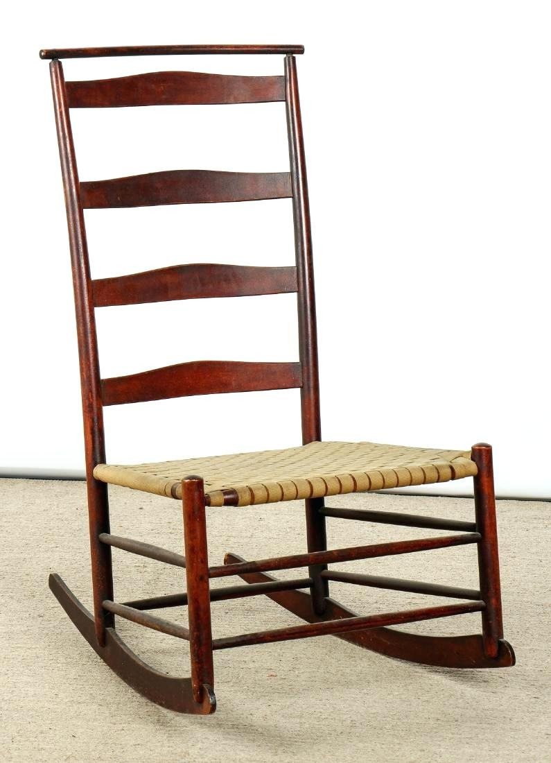 price of rocking chair antique shaker rocking chair placeholder see sold price fisher price rocking chair assembly