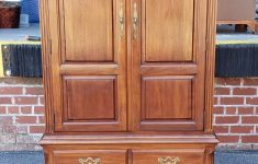 Antique Thomasville Furniture Bedroom Fresh Details About Vintage 1980s Thomasville Furniture Queen Anne Cherry Bedroom Armoire Chest