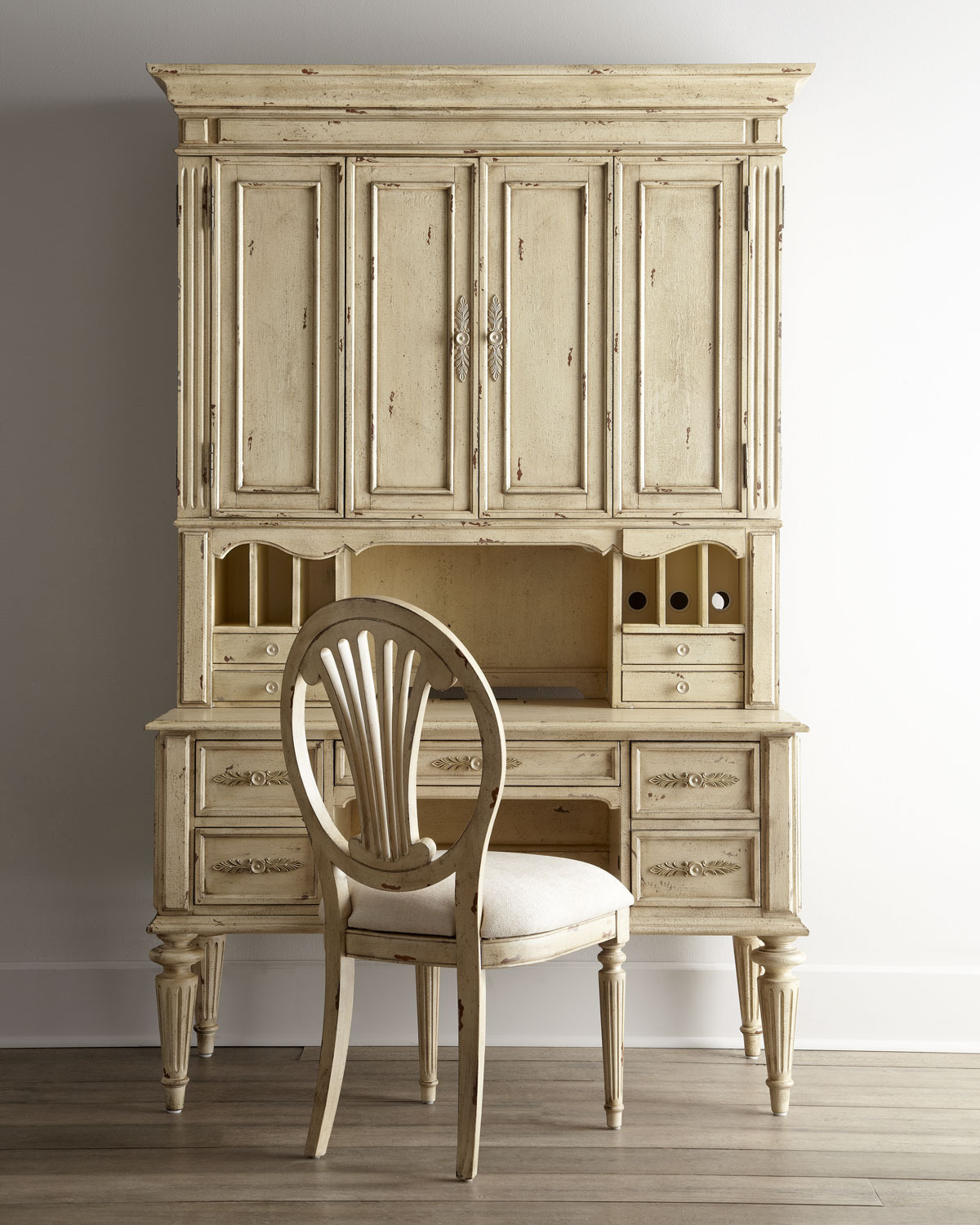 Antique White Office Furniture New Furniture Amusing Desks with Hutch for Home Fice
