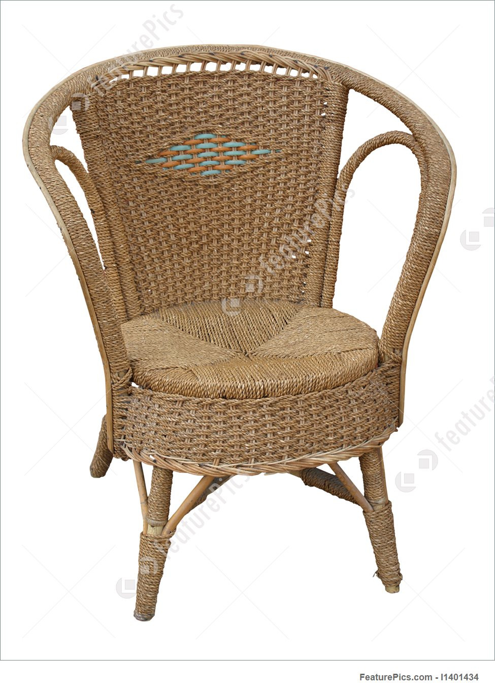 Antique Wicker Chair Pics x