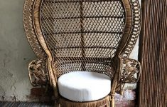 Antique Wicker Furniture Prices New Petite Peacock Morticia Chair Antique Brown In 2020