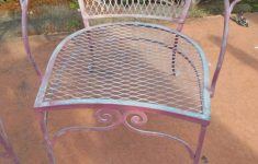 Antique Wrought Iron Patio Furniture For Sale Luxury Salterini Vintage Armchairs 6