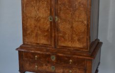 Antiques Furniture For Sale Lovely Antique Queen Anne Small Size Burr Walnut Cabinet On Stand