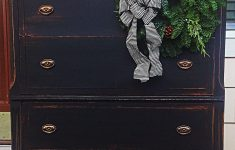 Antiquing Furniture With Paint Best Of Antique Dresser Painted In Black Chalk Paint Distressed And