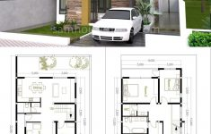 Architectural House Plans And Designs Inspirational House Plans 8x12m With 4 Bedrooms In 2020