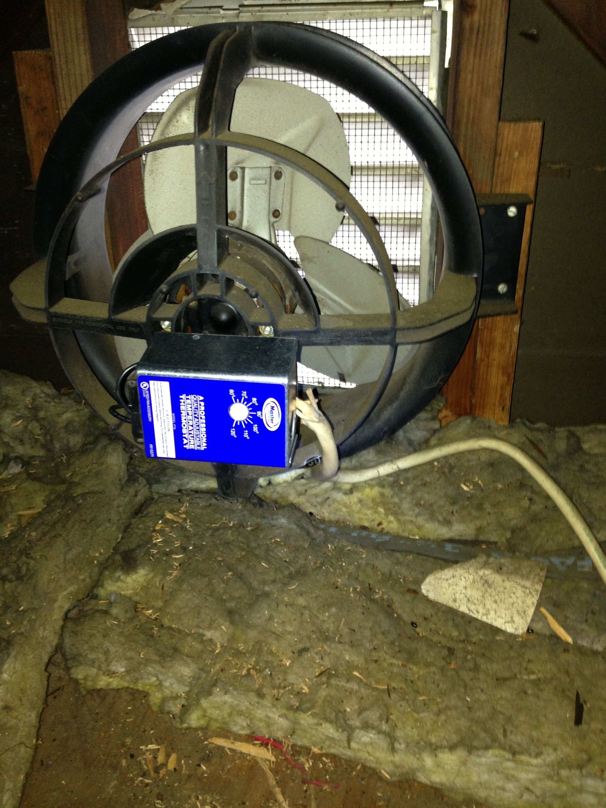 Attic fan thermostat replacement Paramus NJ