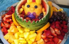 Baby Q Food Ideas Beautiful Baby Shower Fruit Salad Cute Diy With Images