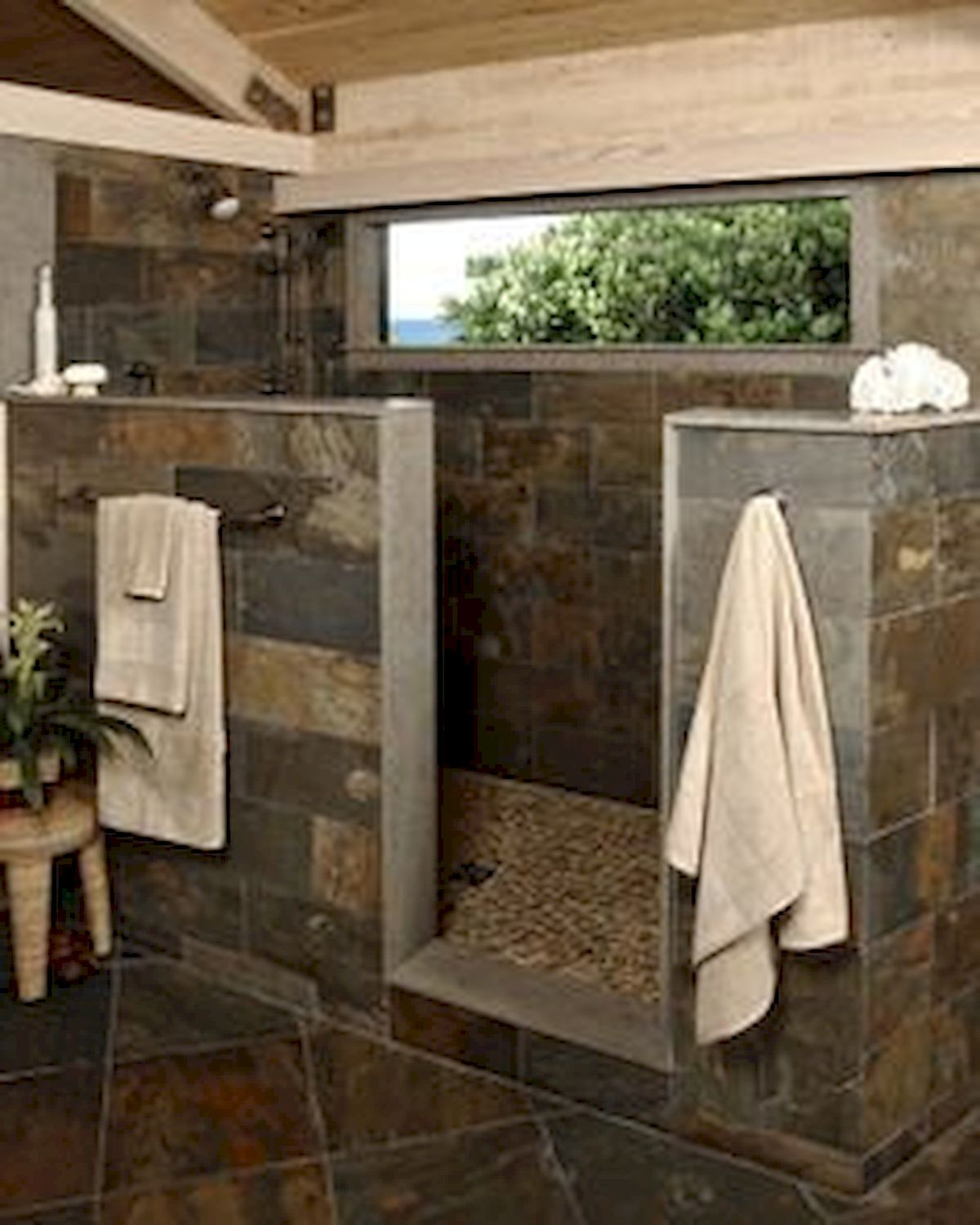 46 Fantastic Walk In Shower No Door for Bathroom Ideas 28