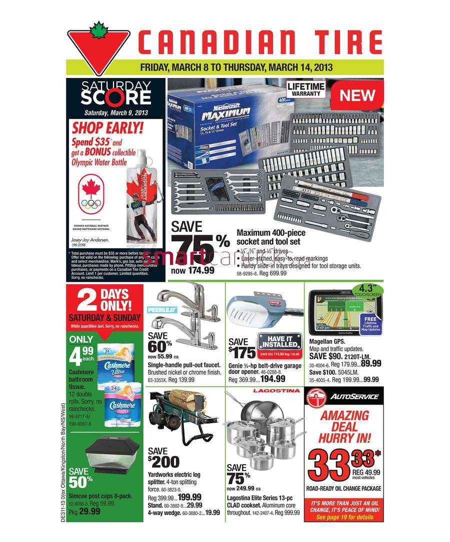 Bed Frame Casters Canadian Tire Luxury Canadian Tire Flyer Mar 8 to 14