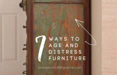 Best Finish For Antique Furniture Beautiful 7 Ways To Age And Distress Furniture
