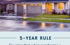 Build My Own House Cost New The Five Year Rule For Buying A House