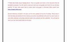 Business Plan For Flipping Houses Luxury Real Estate House Flipping Business Plan Template Sample