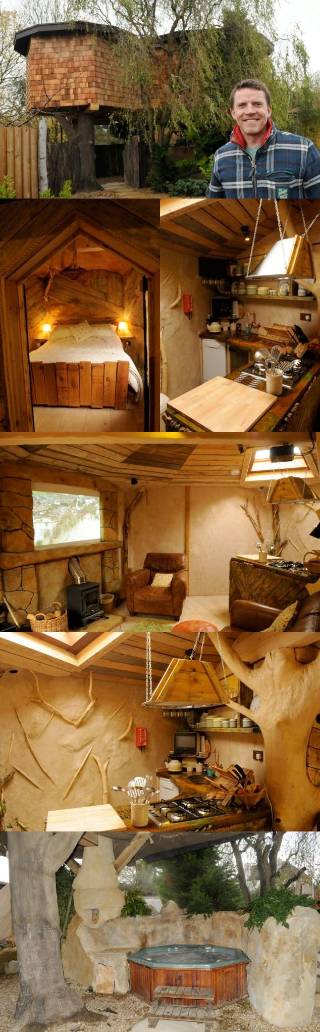 Can I Build A House for 60000 Lovely Making A Tree House A Home Businessman Spends £60 000