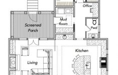 Coastal Home Floor Plans Luxury Narrow House Plans Sparrow Collection — Flatfish Island