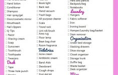 College Dorm Room Checklist Bed Bath And Beyond Awesome College Checklist Everything You Ll Need To Be Prepared For