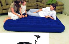 Comfort Quest Inflatable Mattress Inspirational Unibos© Extra Fort Double Flocked Inflatable Air Bed With Pump Rapid Inflating Extra Guest Bed