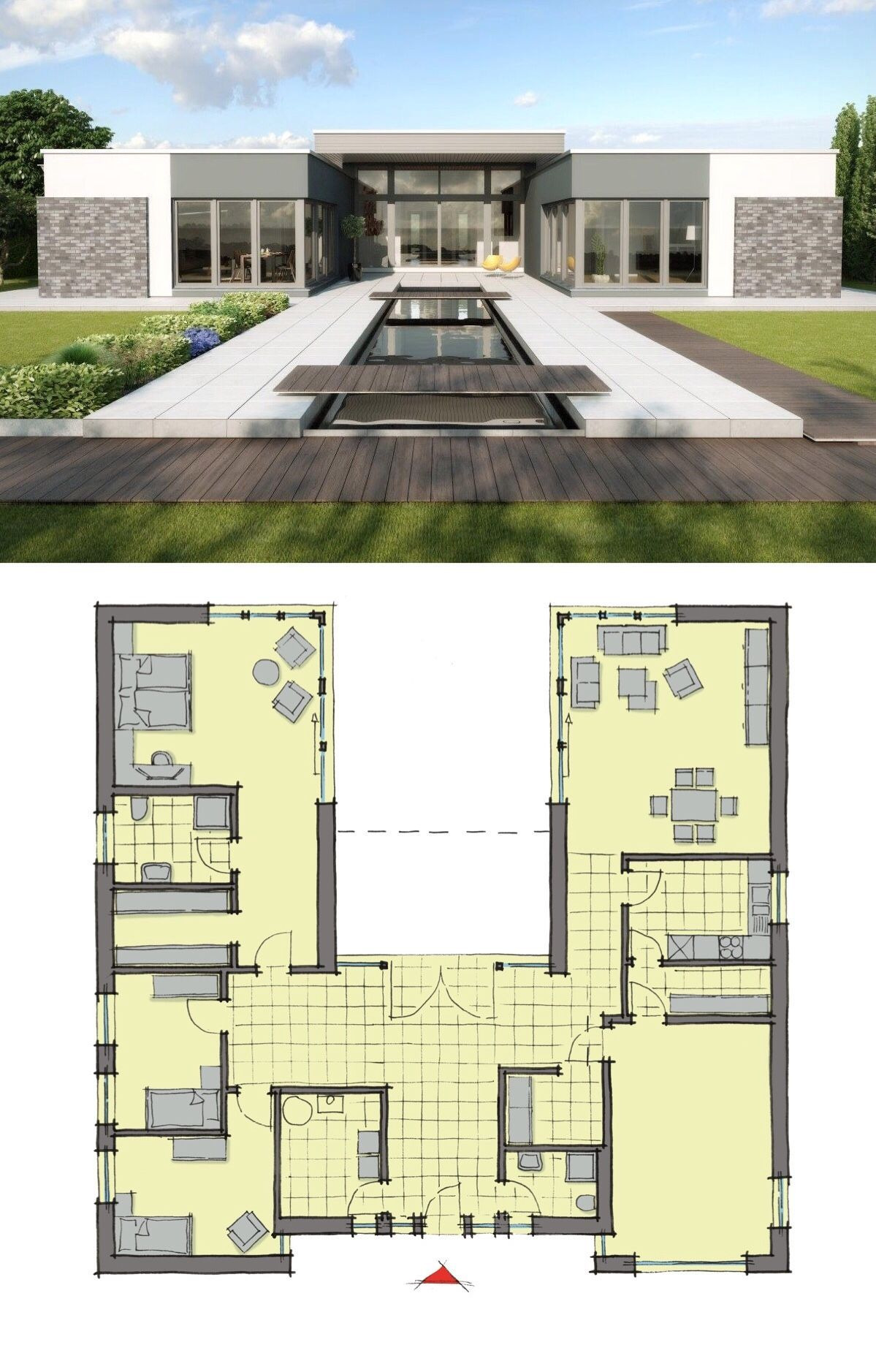Contemporary House Designs and Floor Plans Inspirational Bungalow House Design Modern European Contemporary