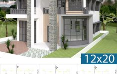 Contemporary House Floor Plans Elegant Modern House Plan 9x14 5m With 4 Bedrooms