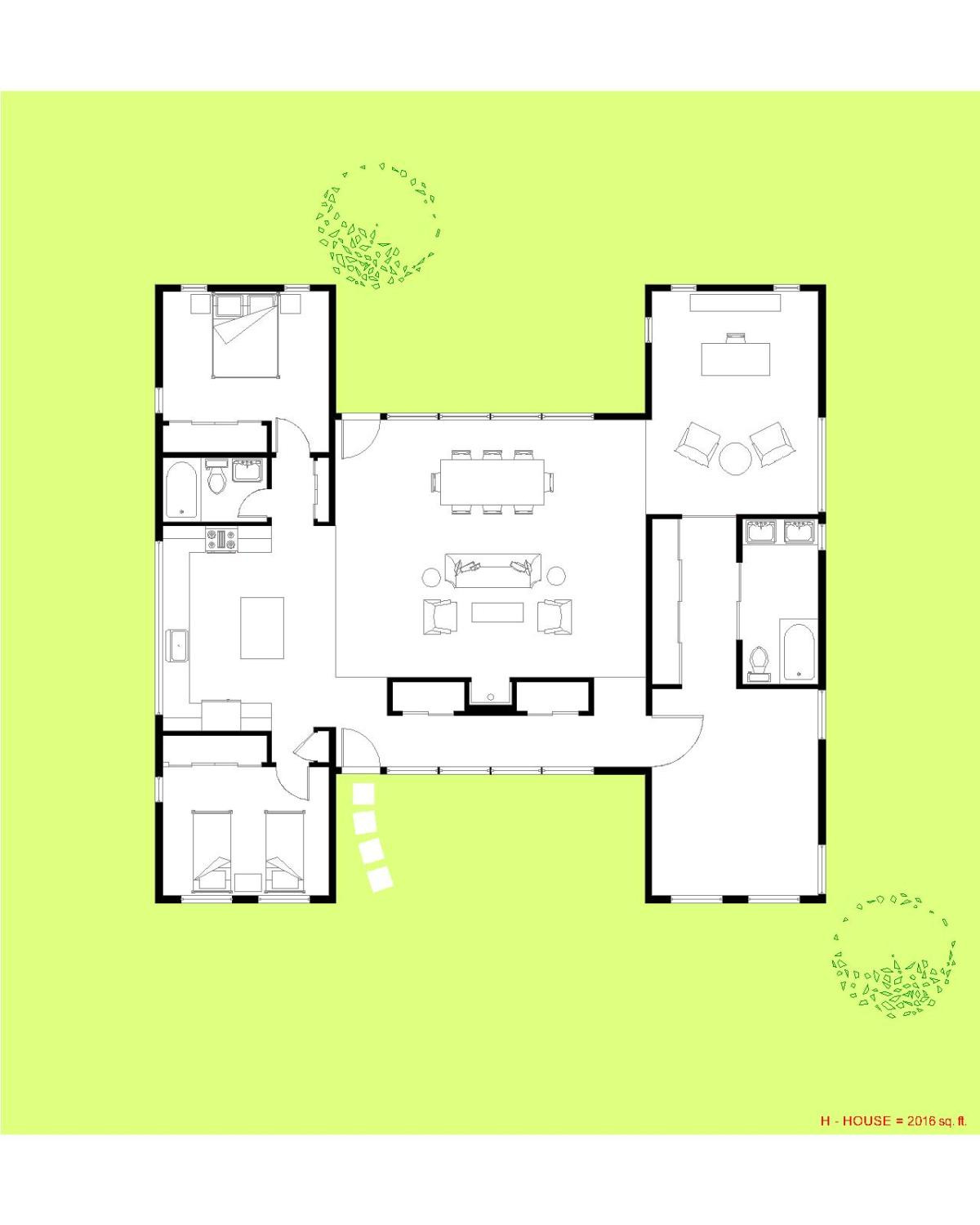 Cost Efficient Floor Plans Beautiful Pictures H House 1 Story Modern Modular — Trillium Architects