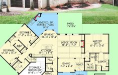Cost To Build Craftsman Home Lovely Plan Ge Affordable Gable Roofed Ranch Home Plan