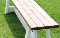 Cost To Build Farmhouse Awesome How To Build A Farmhouse Bench For Under $20 The