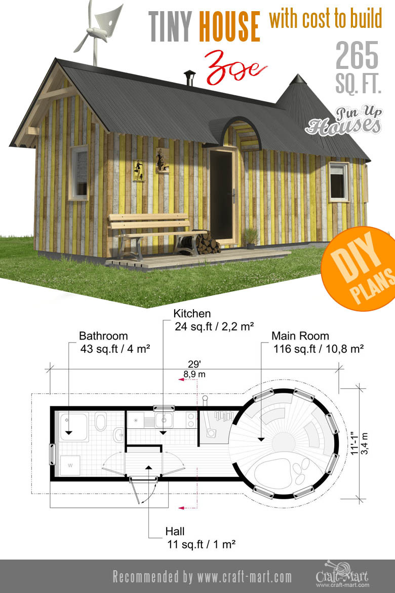203 small home plans Zoe