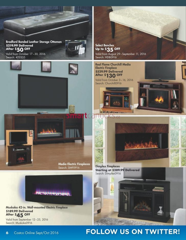 Costco Fireplace Media Center 2021