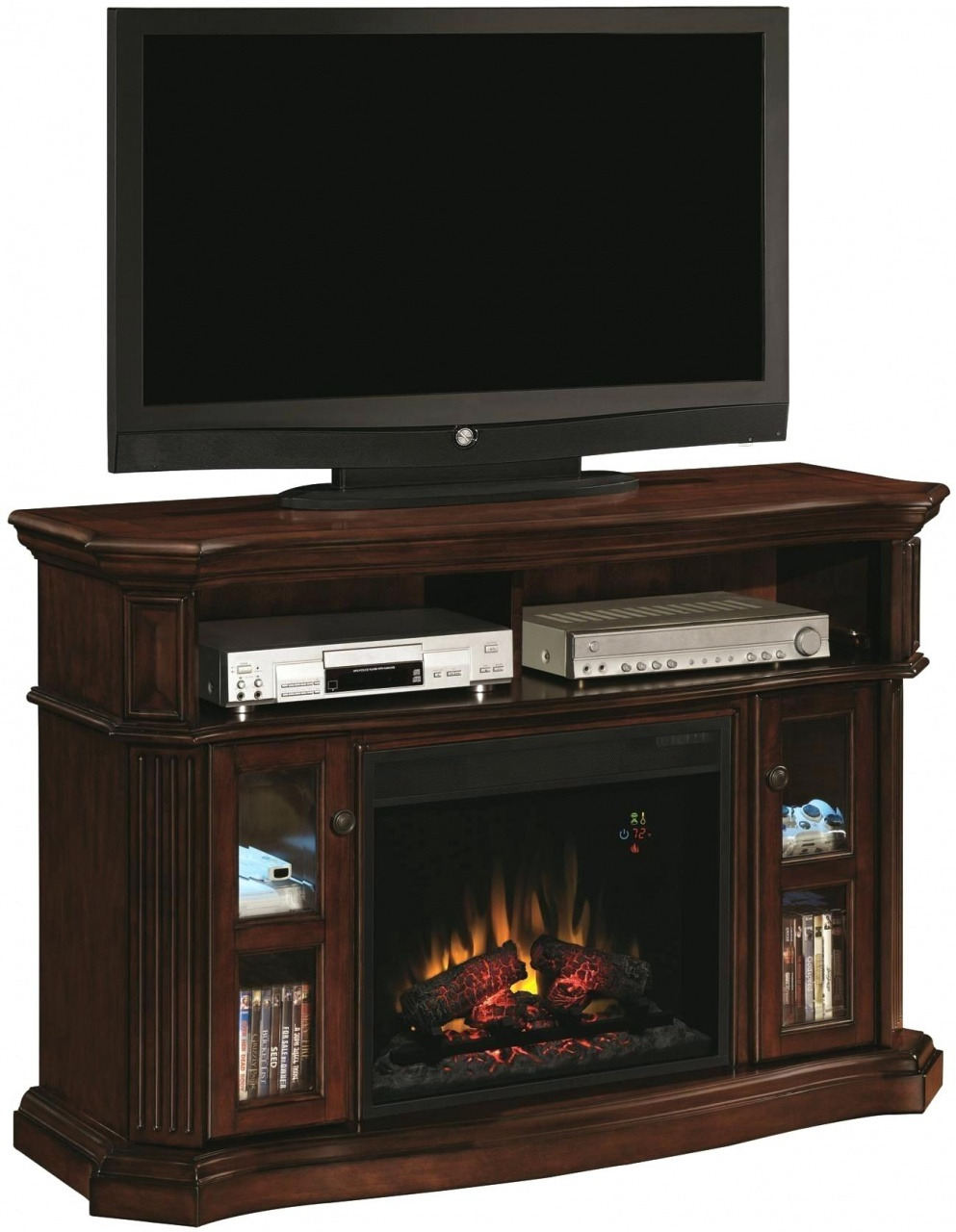 oak electric fireplace entertainment center real flame fresno electric fireplace black g1200e b