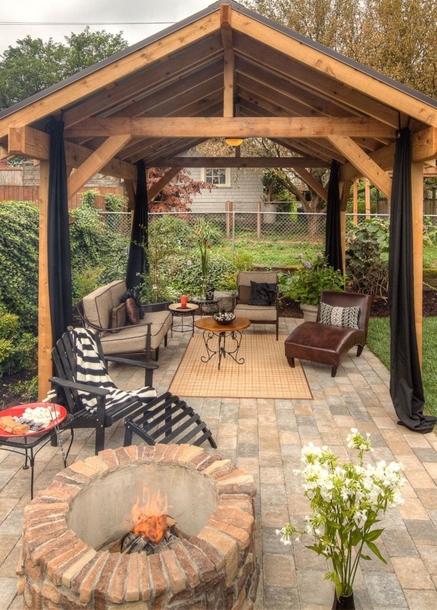 Wooden Outdoor Patio Gazebos