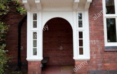 Covered Entrance To A House Awesome Covered Front Door Entrance Hall Grand House Stock