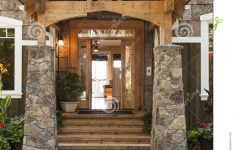 Covered Entrance To A House Best Of Exterior Porch And Front Door Entrance To Beautiful Upscale