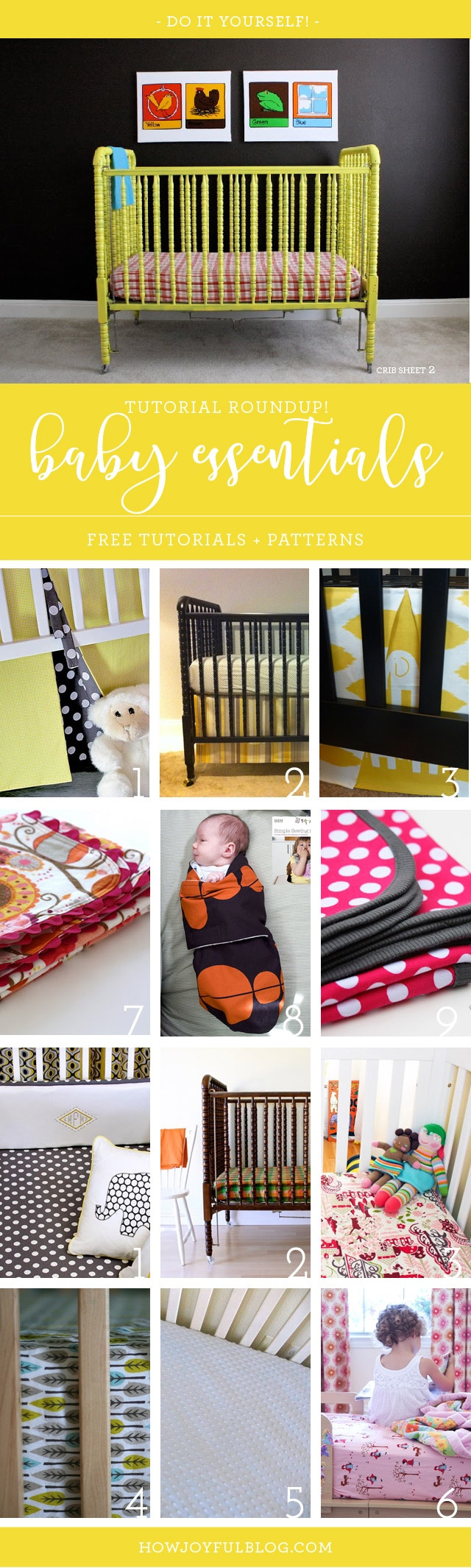 Custom Crib Bedding Online Beautiful How to Sew A Crib Bedding and Nursery Essentials Sewing