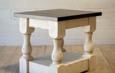 Distressed Coffee Table Uk Beautiful Antique Distressed White Harvest End Table