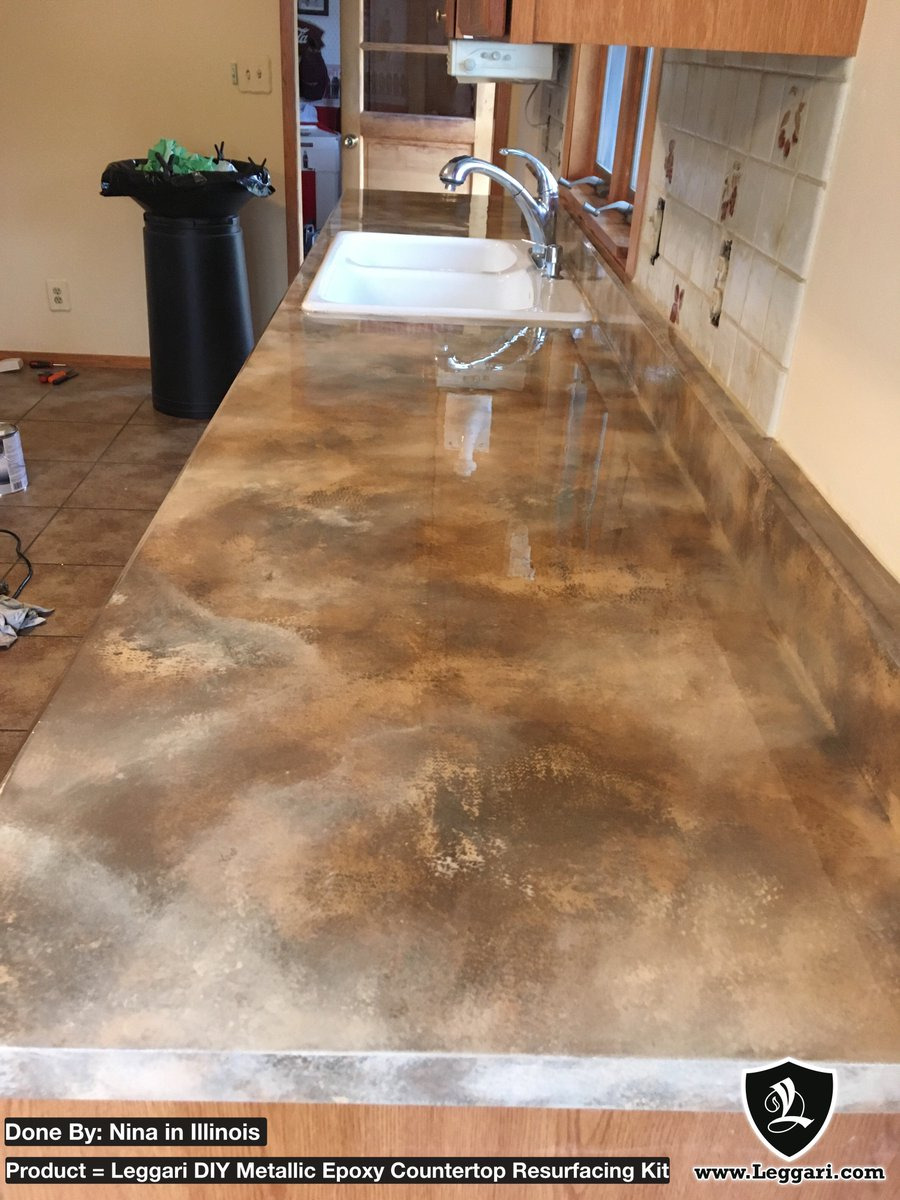 """Diy Tile Countertop Resurfacing Unique Leggari Products On Twitter """"if Your Kitchen Countertop"""