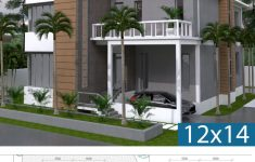 Duplex Beach House Plans Unique 3 Story House Plan 12x14m With 4 Bedrooms