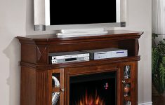 "Electric Fireplace With Entertainment Center Costco Fresh Classic Flame 54"" Fireplace Tv Console Bellemeade Ts 23mm774"