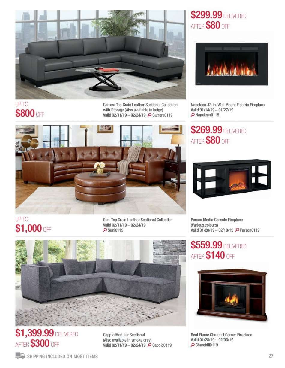 Electric Wall Mount Fireplace Costco Lovely Current Costco Flyer January 01 2019 February 28 2019
