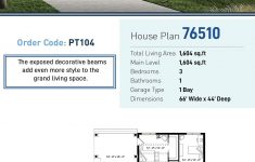 Exposed Beam House Plans Fresh Modern Style House Plan With 3 Bed 1 Bath 1 Car