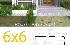 Flat Roof House Designs Plans Best Of House Plans 6x6 With E Bedrooms Hip Roof In 2020