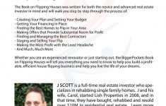 Flipping Houses Business Plan Fresh The Book On Flipping Houses How To Buy Rehab And Resell