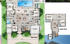 Florida House Plans With Pool Luxury Plan Bw Grand Florida House Plan