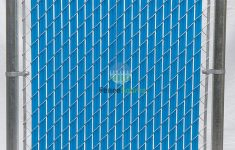 Forever Green Fence Slats Unique Fence Source Wave Slat™ 9 Colors Single Wall Bottom Locking Privacy Slat For 4 5 6 7 And 8 Chain Link Fence 6 Ft Sky Blue