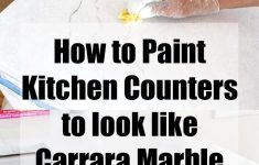 Formica Refinishing Kits Luxury Painting Kitchen Countertops To Look Like Carrara Marble